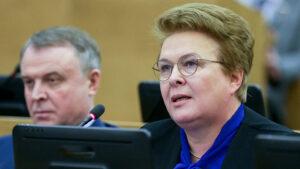 Ольга ОКУНЕВА: вопрос министру