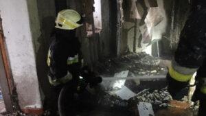 Смертельный пожар унес жизни двух человек